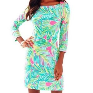 Lilly Pulitzer UPF 50+ Sophie Dress Tropical Storm